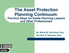 Asset Protection Continuum Cover Page Feb 21 2017