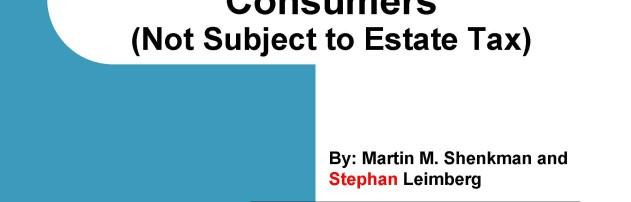 Consumer Basic Estate Planning