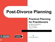 Pages from Post-Divorce Planning Scroggin Cover Page Sept 12 2017