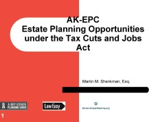 AK EPC - Estate Planning after TCJA Mar 19 2018-2 Feature Image