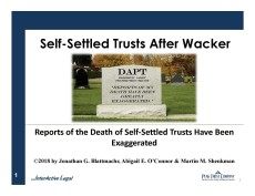 Pages from Self-Settled Trusts After Wacker Feature Image Page
